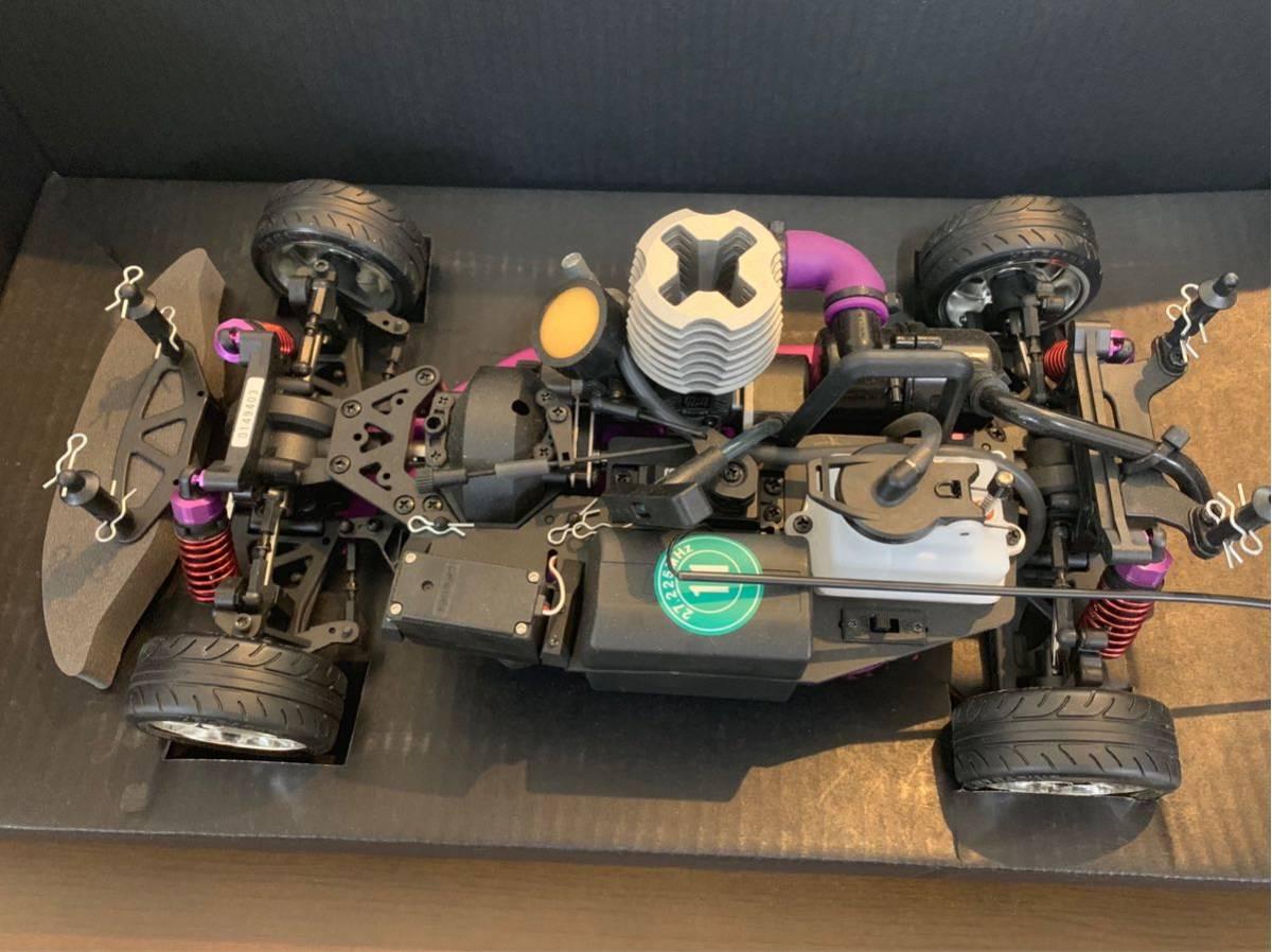 未使用品! hpi racing製 3.0ccエンジン&プロポ付き ドリフト可能ラジコン RX-7(FD3S)とシルビア(S15)ボディ付き 全国送料無料(離島を除く)!_画像5