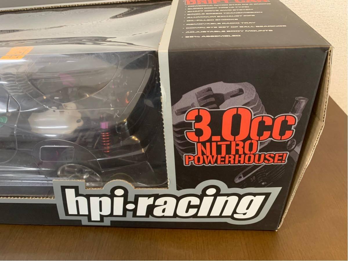 未使用品! hpi racing製 3.0ccエンジン&プロポ付き ドリフト可能ラジコン RX-7(FD3S)とシルビア(S15)ボディ付き 全国送料無料(離島を除く)!_画像3