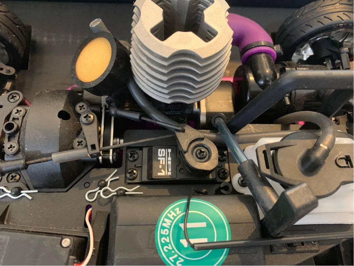 未使用品! hpi racing製 3.0ccエンジン&プロポ付き ドリフト可能ラジコン RX-7(FD3S)とシルビア(S15)ボディ付き 全国送料無料(離島を除く)!_画像7