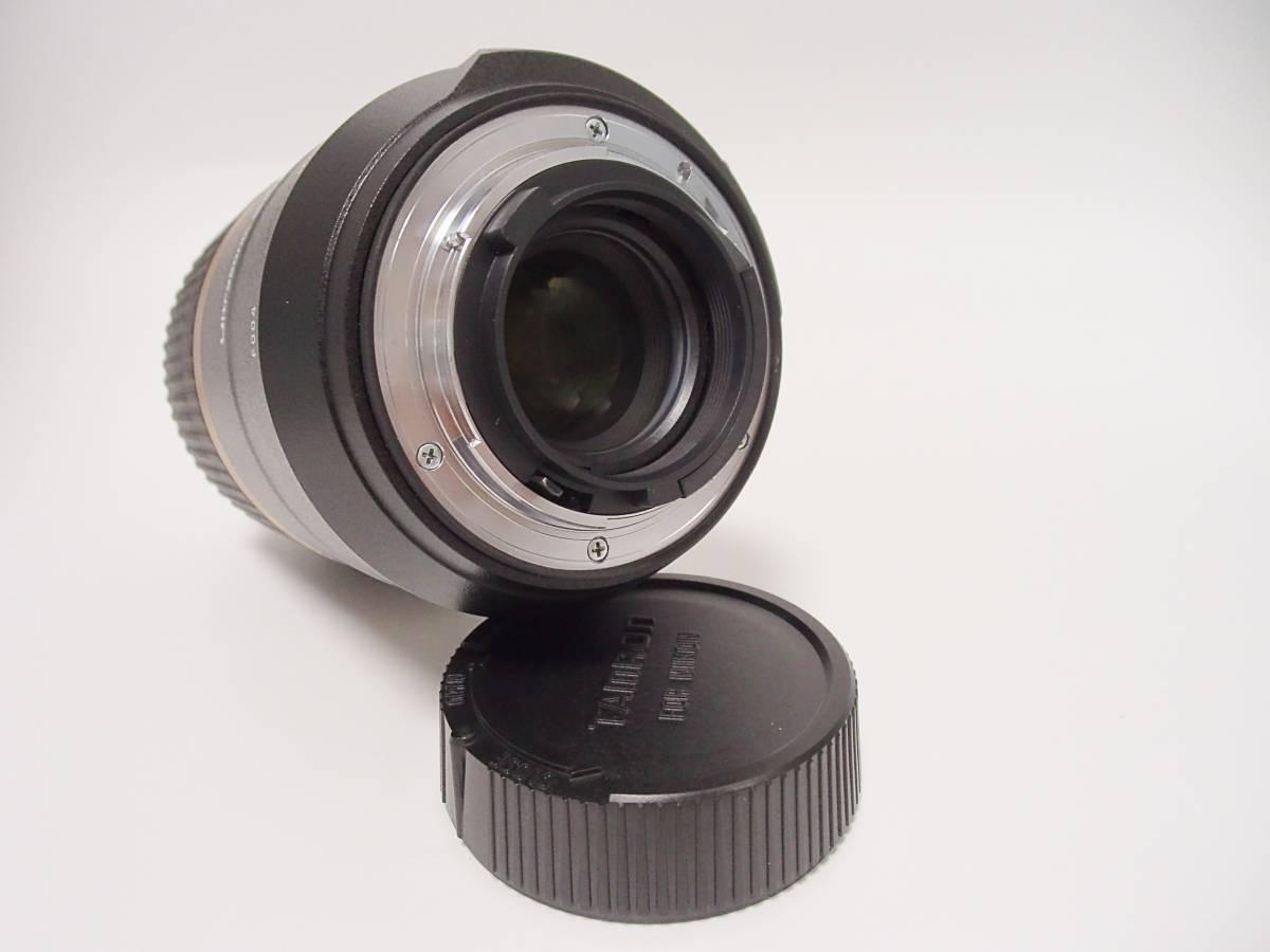 超美品 タムロン TAMRON SP90mm F/2,8 Di MACRO 1:1 VC USD Model F004 ニコン用_画像8