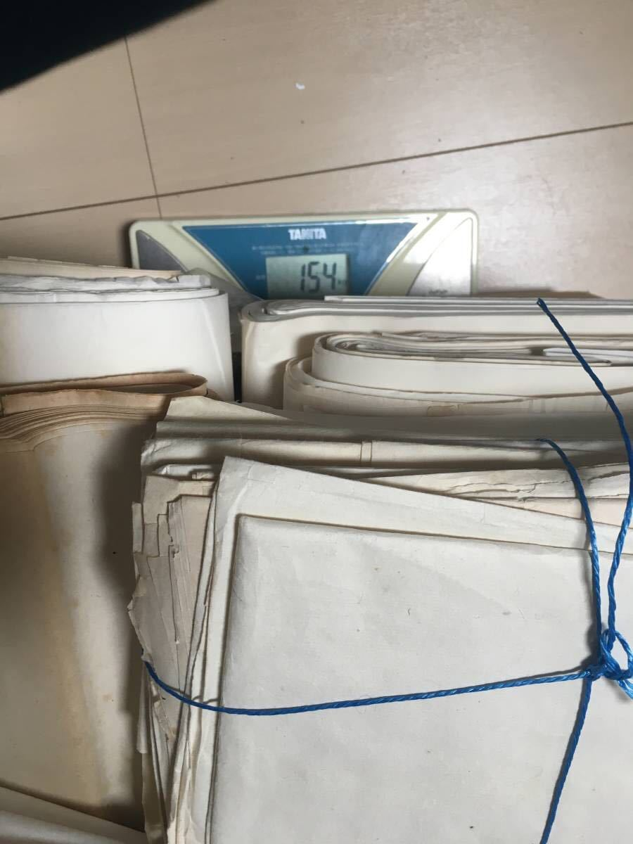 書道紙 大量 約15.4kg まとめて 検)中国 書道 和紙 画仙紙 宣紙 半紙_画像9