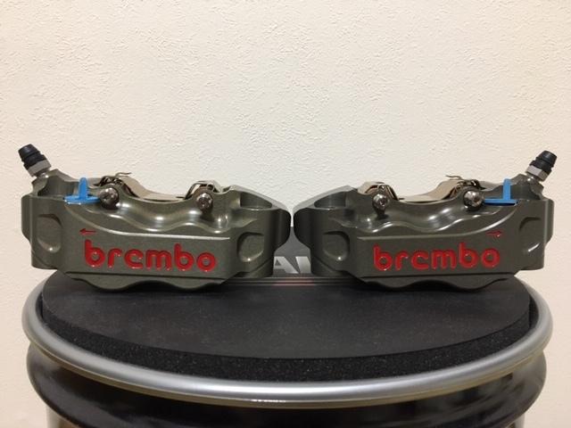 正規品 未使用 brembo ブレンボ キャリパ- CNC 220A01610 左右SET 108㎜ 定価150000- GSX-R CBR YZF-R1 ZX-10R