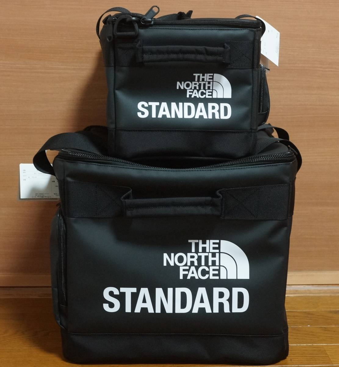 THE NORTH FACE STANDARD Limited record bag for 12inch & 7inch セット 新品未使用 国内正規品 vinyls NM81871 NM81870 レコードバッグ