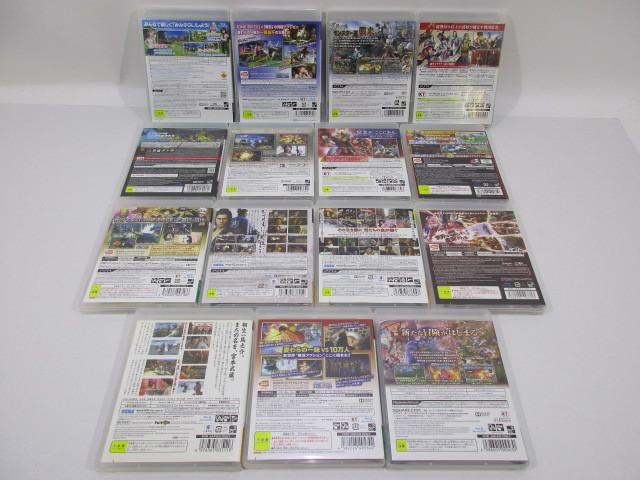 K040-000100-s3020k [送料850円]【ジャンク】PS3 ソフト 15本セット 海賊無双3 等_画像3