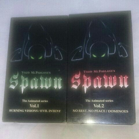 Spawn The Animated series Vol.1&2 VHS スポーン