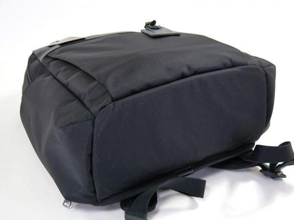 TUMI トゥミ 69787 カーボン×ナイロン Clayton Backpack ビジネス リュックサック バックパック PC収納可能 黒 ブラック BLACK / 513_画像7