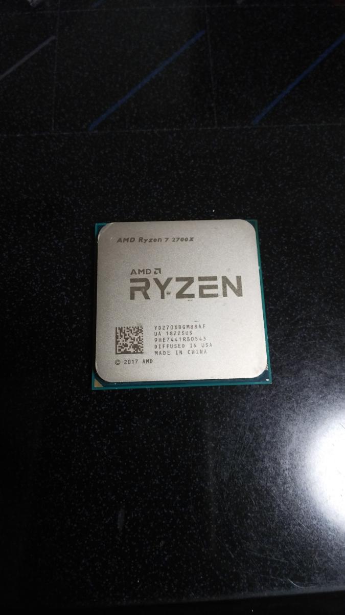 AMD Ryzen 7 2700X ソケット AM4 ジャンク