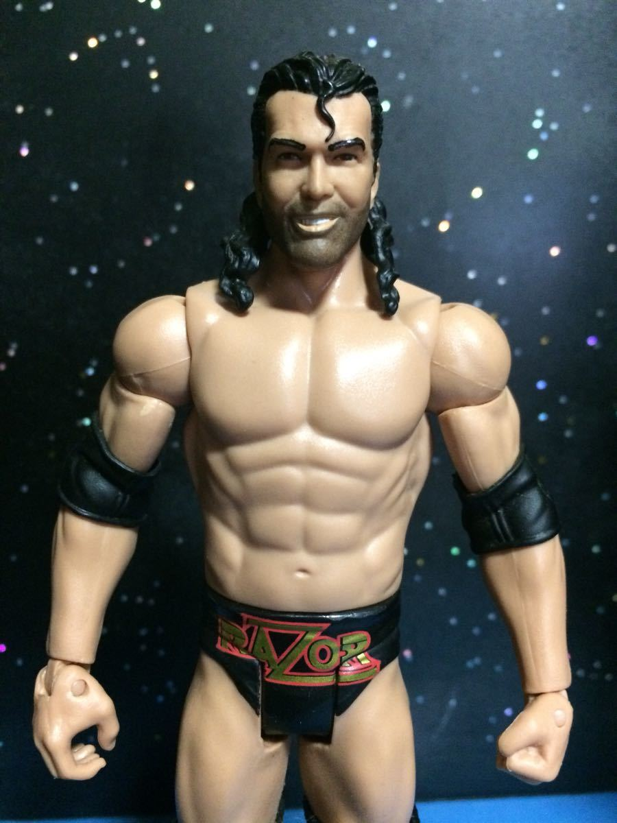 WWE WWF プロレス フィギュア マテル ベーシック レザーラモン スコットホール nwo WCW_画像2