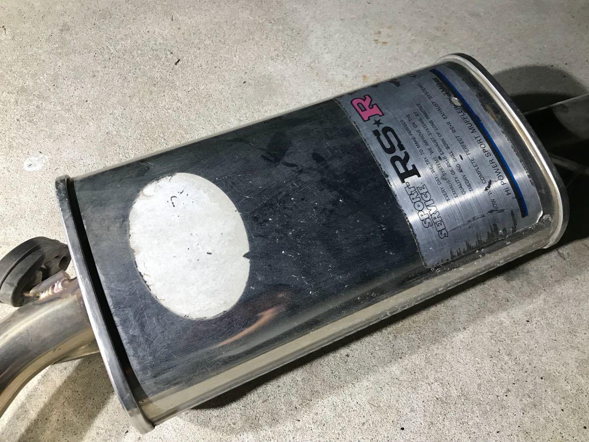 ローバーミニ RSRマフラー ステンレス 旧ミニ bmcミニ クラシックミニ_画像2