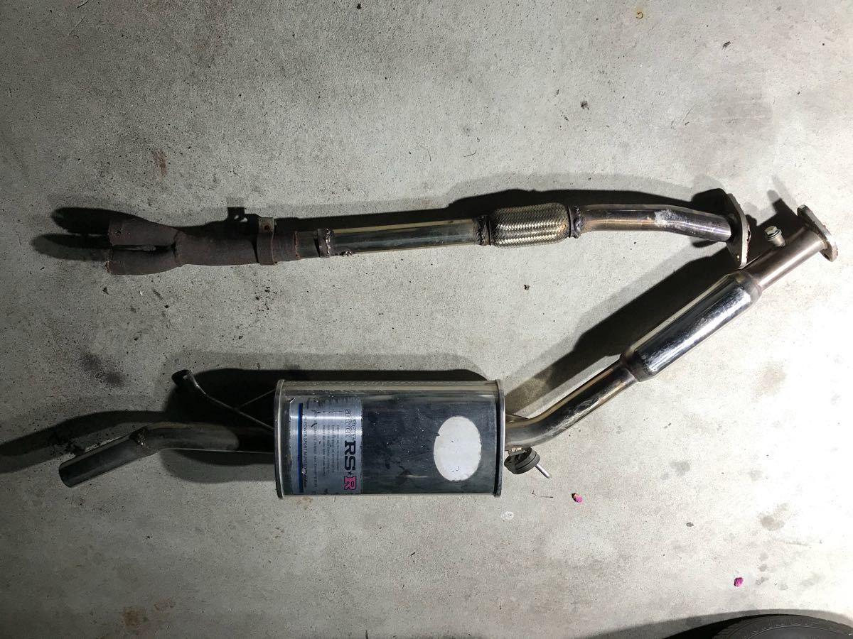 ローバーミニ RSRマフラー ステンレス 旧ミニ bmcミニ クラシックミニ