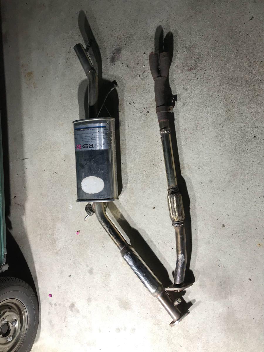 ローバーミニ RSRマフラー ステンレス 旧ミニ bmcミニ クラシックミニ_画像8