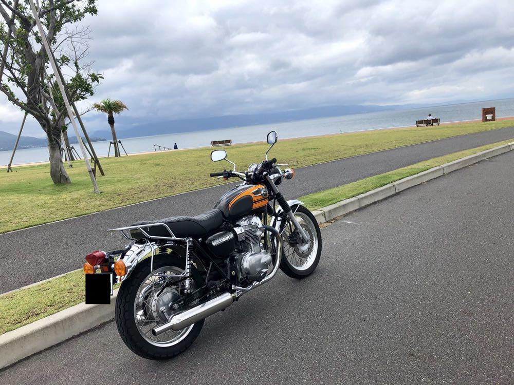 カワサキw800 イナドメ ウインカー セット中古_画像9