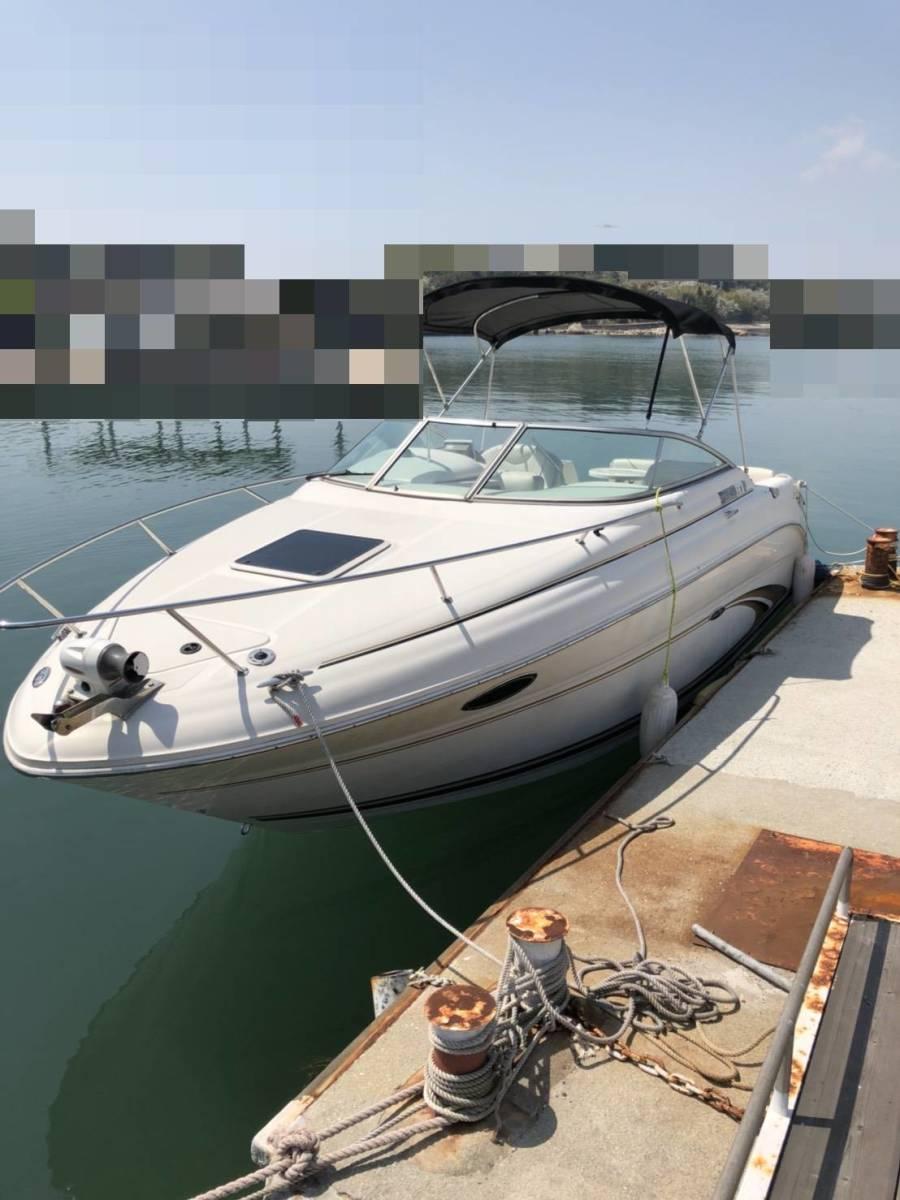 【岡山市発】 シーレイ 245 美艇 GPS 冷蔵庫付 陸上保管 陸送可 試乗可_画像1