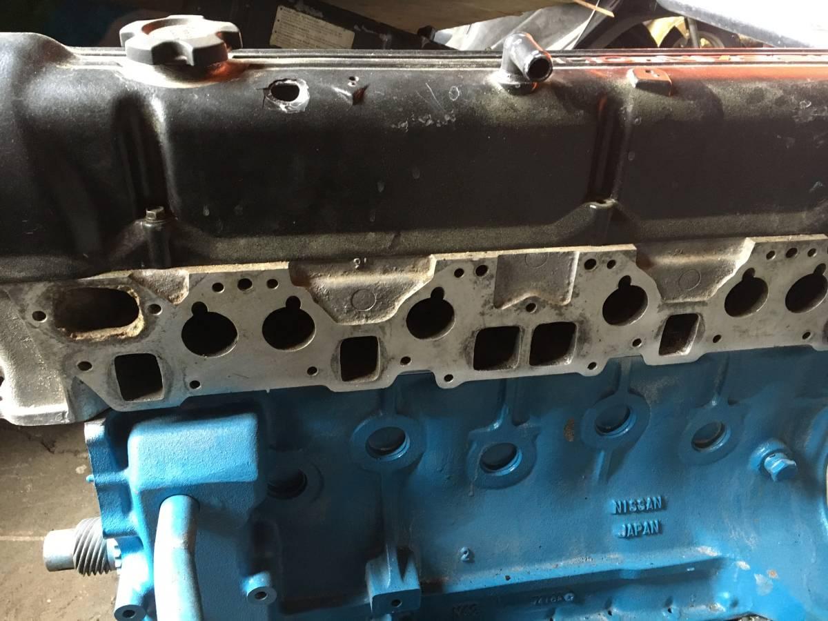 L28エンジン N42ブロック N42ヘッド ノーマルエンジン 希少 ニッサン NISSAN フェアレディーZ スカイライン ハコスカ ケンメリ S30