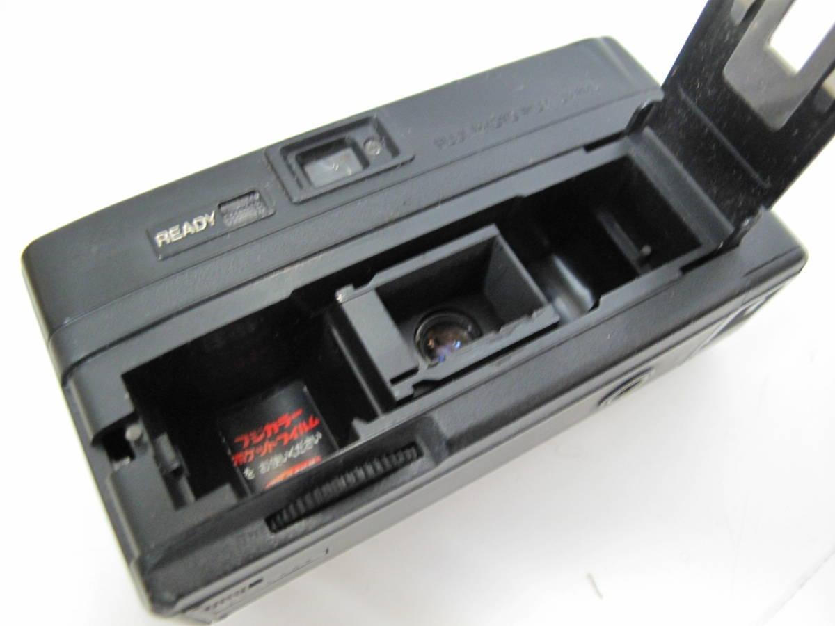 ポケットカメラ POCKET FUJICA 350 flash/AGFAMATIC 3000 ドイツ製/ミノルタ ウェザーマチック 3台セット_画像7