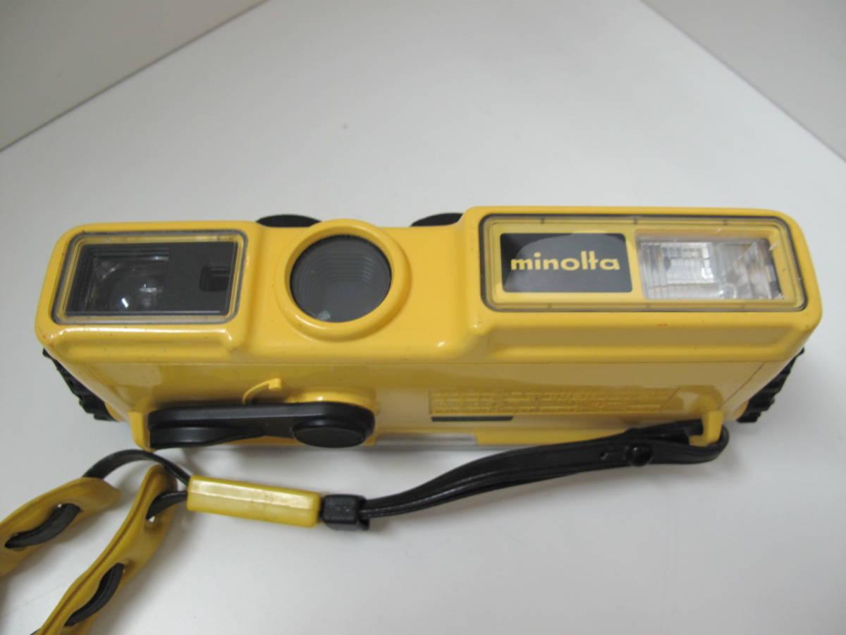 ポケットカメラ POCKET FUJICA 350 flash/AGFAMATIC 3000 ドイツ製/ミノルタ ウェザーマチック 3台セット_画像8