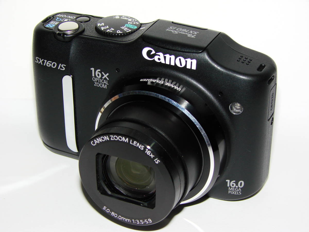 Canon PowerShot SX160IS 中古美品!拍卖