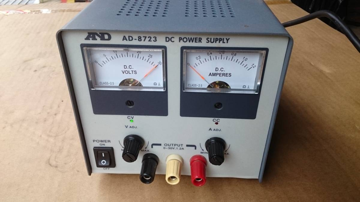 AND AD-8723 DC POWER SUPPLY AC-DC  コンバーター? インバーター? 美品  DCコンバーター?