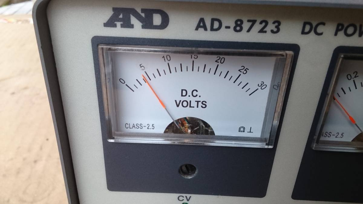 AND AD-8723 DC POWER SUPPLY AC-DC  コンバーター? インバーター? 美品  DCコンバーター?_画像2