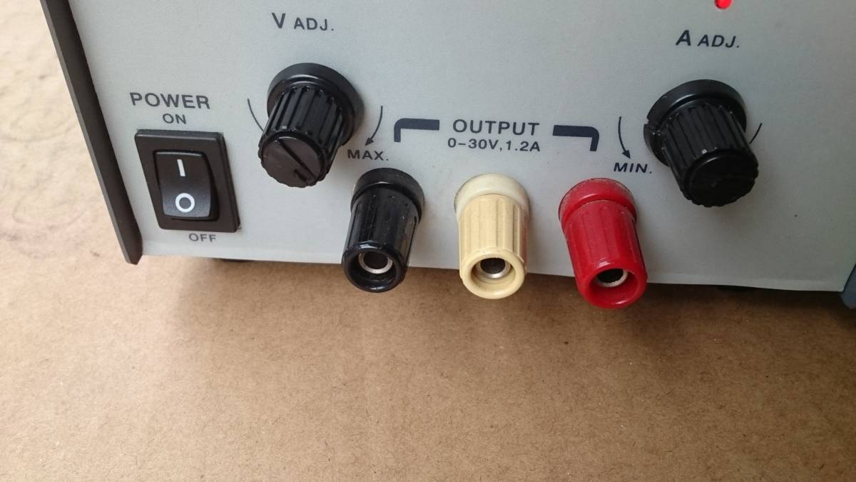 AND AD-8723 DC POWER SUPPLY AC-DC  コンバーター? インバーター? 美品  DCコンバーター?_画像4