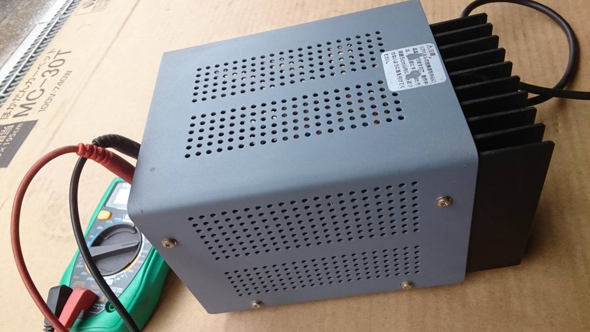 AND AD-8723 DC POWER SUPPLY AC-DC  コンバーター? インバーター? 美品  DCコンバーター?_画像6