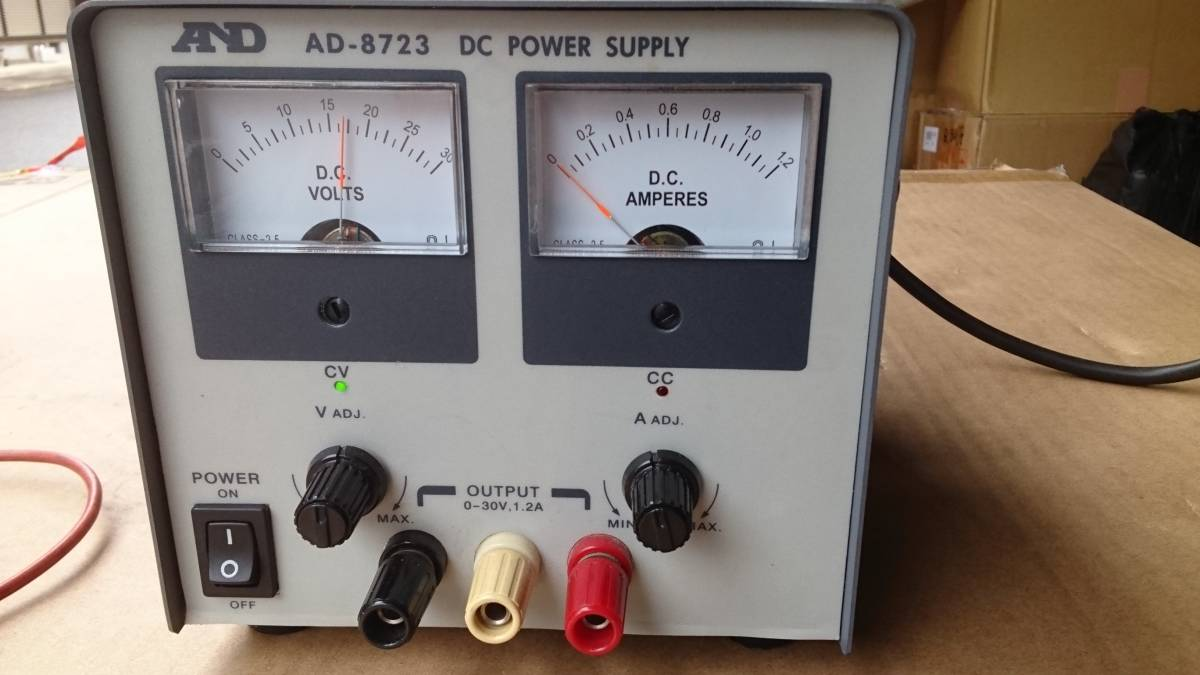 AND AD-8723 DC POWER SUPPLY AC-DC  コンバーター? インバーター? 美品  DCコンバーター?_画像10