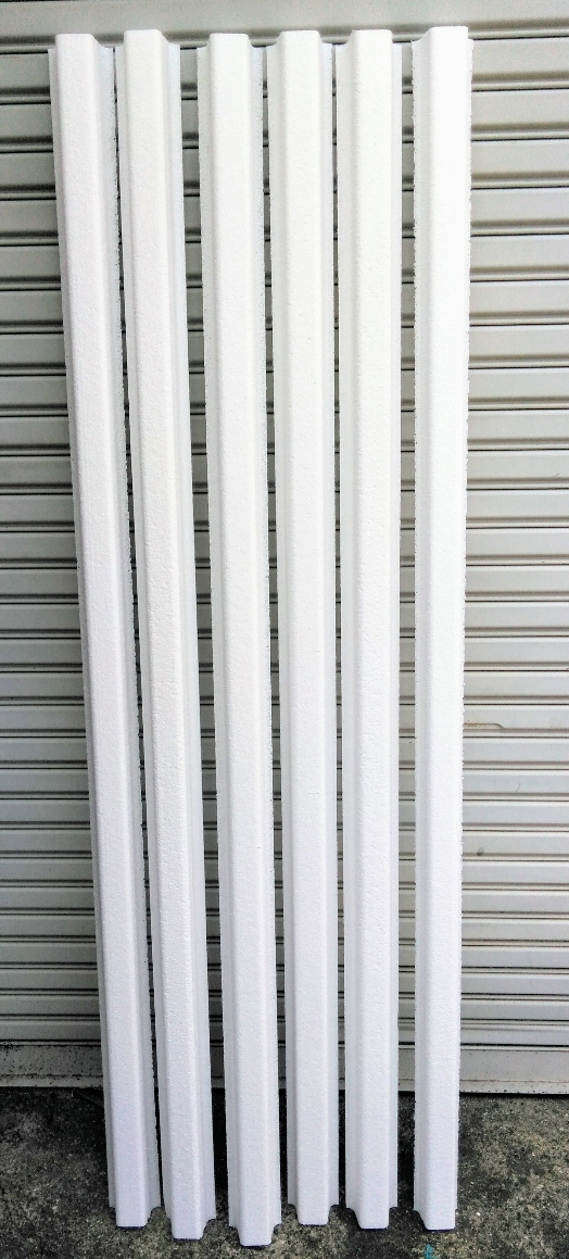 バラ売り FRP船舶用芯材「ピオセランフレーム材 POF30 6本 1800x50x50mm 」積水化成品工業 代引不可_画像3