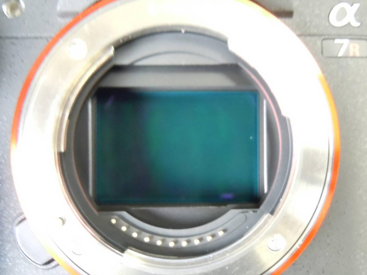 SONY α7RⅡ ILCE-7RM2/BQ 美品_画像7