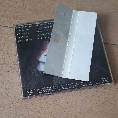 ドゥーム/コンプリケイテッド マインド 旧規格税表記無3200円盤 VDR-1577 帯付き_画像3
