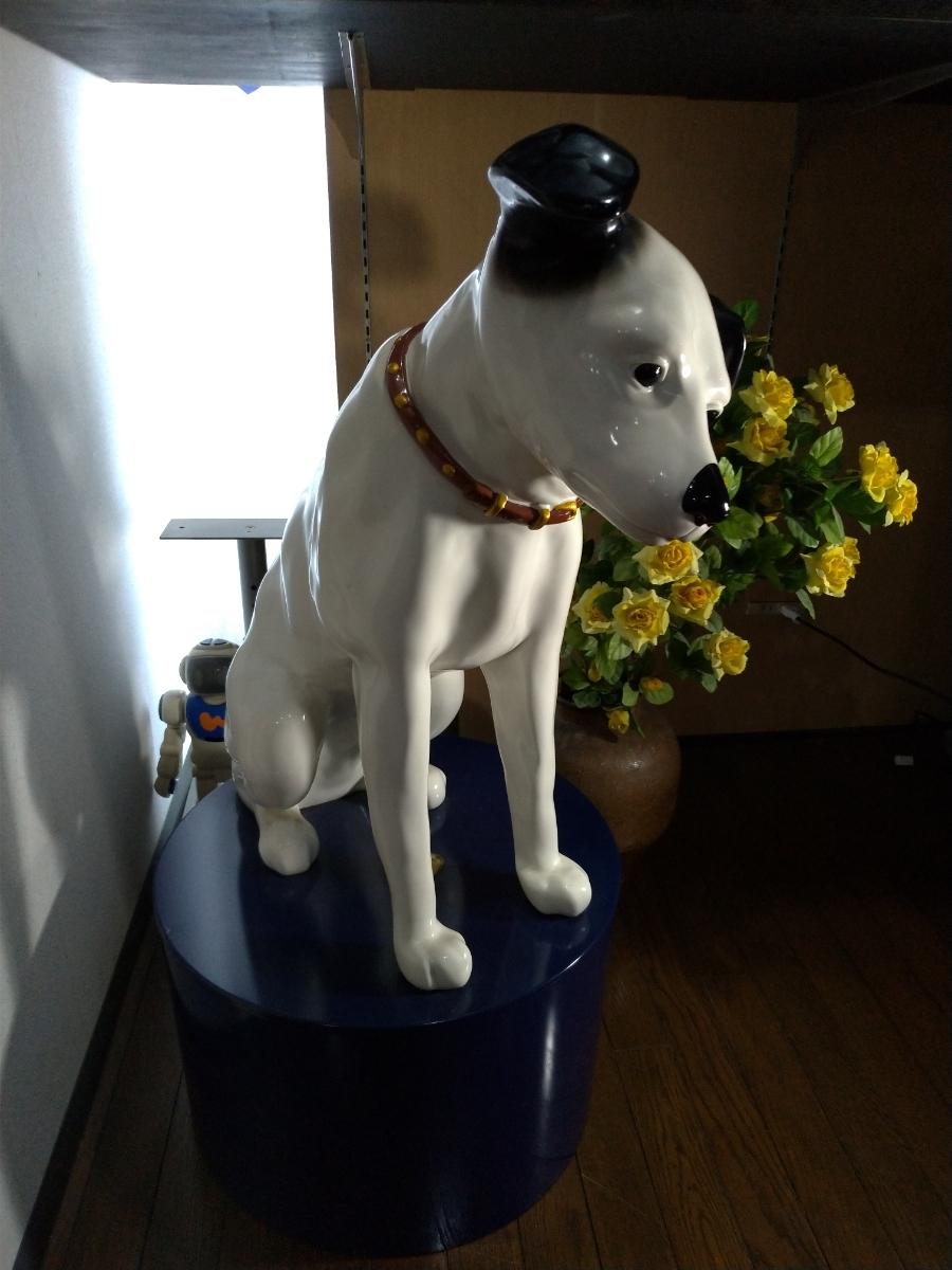 ビクター犬ニッパー人形 日本ビクター創立75周年記念限定300体モデル 68/300_画像7