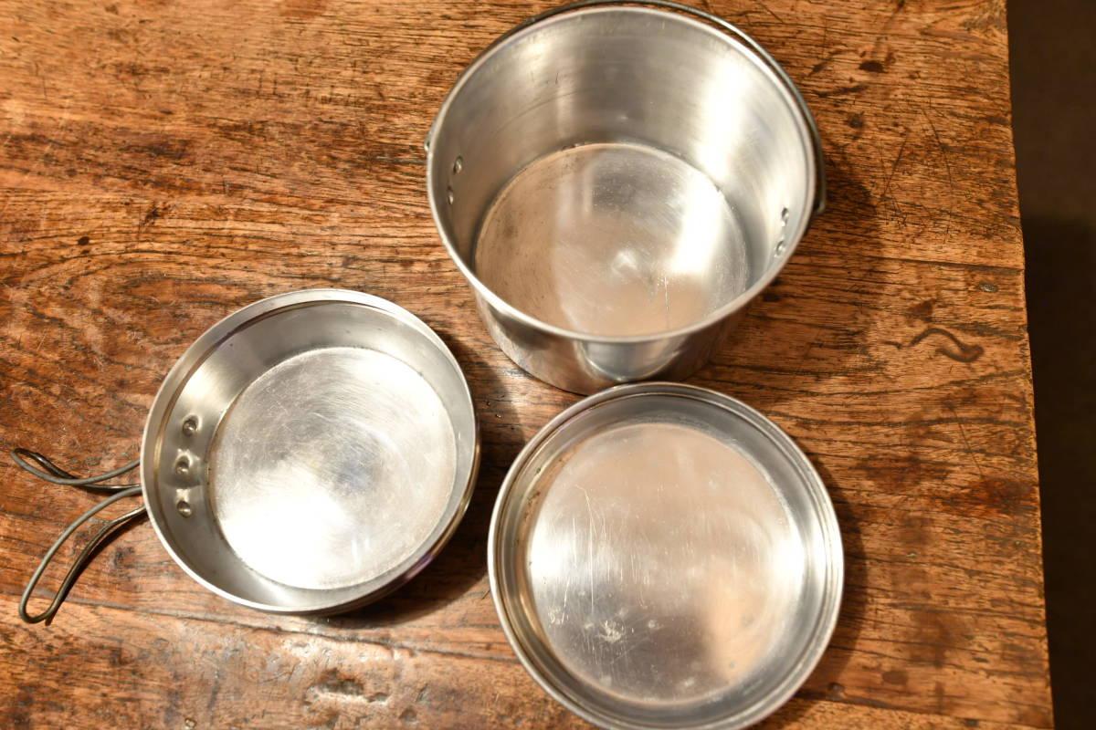激レア! ホットン社製 ブルドッグ ブランド ビリーカン ビリー缶 MADE IN UK  中サイズ ソロ、ツーリング向きセット_画像6