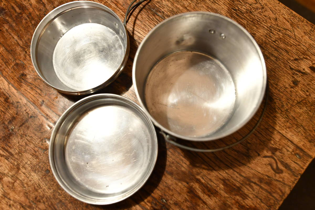 激レア! ホットン社製 ブルドッグ ブランド ビリーカン ビリー缶 MADE IN UK  中サイズ ソロ、ツーリング向きセット_画像8