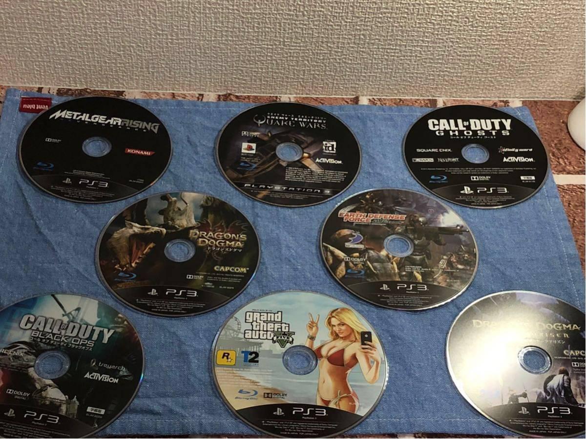中古 PS3 ソフト 大量 ディスクのみ まとめ 64枚 セット 動作一部未確認 サイレン 龍が如く ドラゴンボール ニンジャガイデン など_画像6