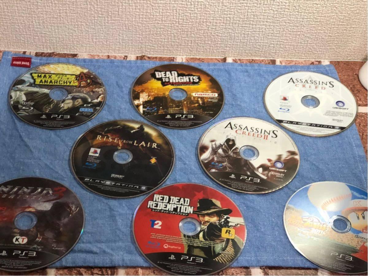 中古 PS3 ソフト 大量 ディスクのみ まとめ 64枚 セット 動作一部未確認 サイレン 龍が如く ドラゴンボール ニンジャガイデン など_画像7