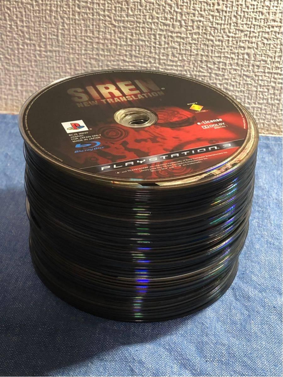 中古 PS3 ソフト 大量 ディスクのみ まとめ 64枚 セット 動作一部未確認 サイレン 龍が如く ドラゴンボール ニンジャガイデン など