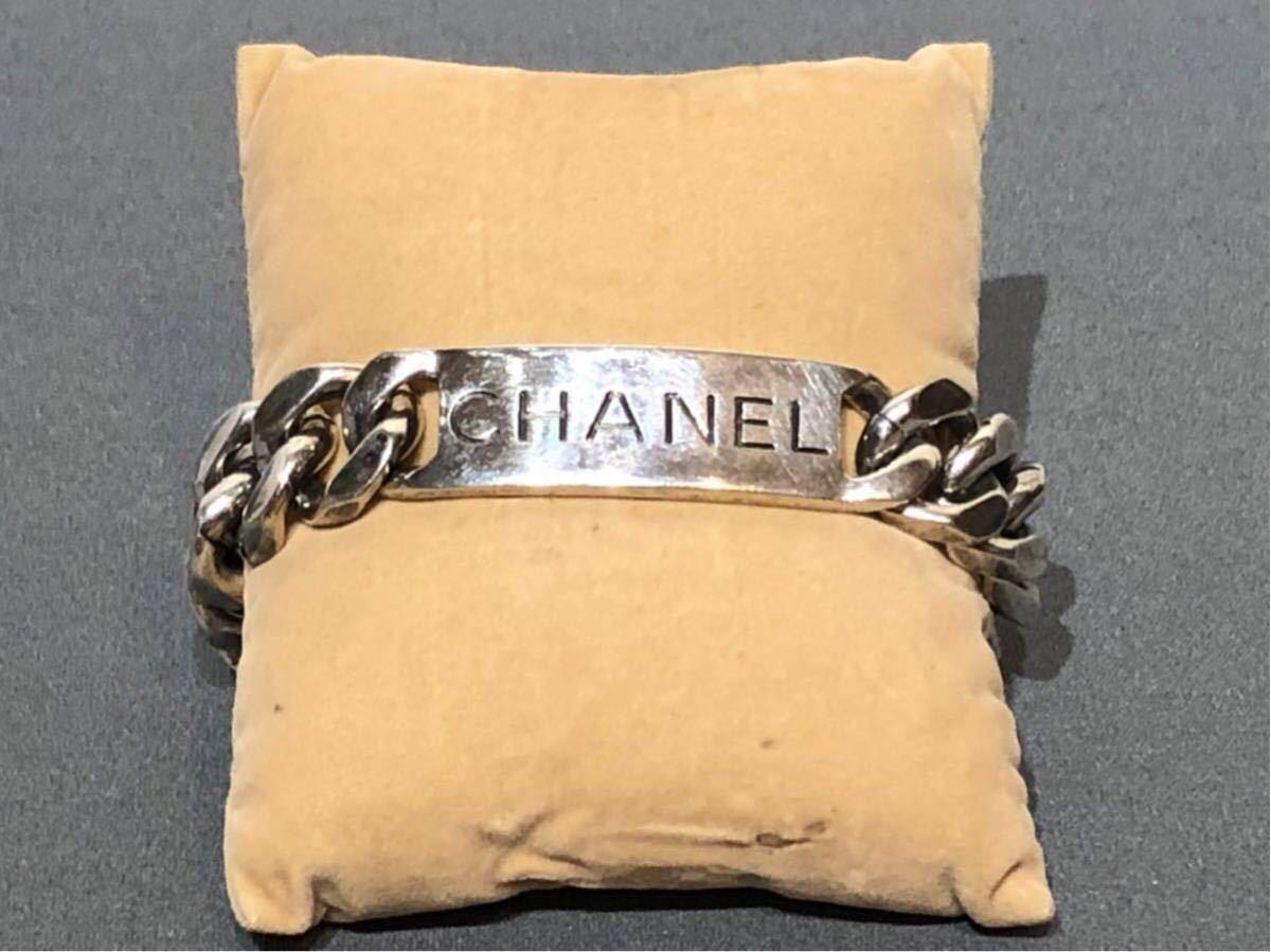 CHANEL シャネル シルバーブレスレット 1996 ココシャネル MADE IN FRANCE 送料無料