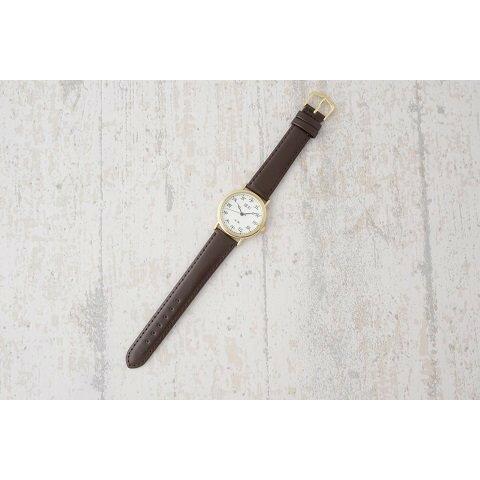干支文字盤十二支メンズ腕時計 (ブラウンベルト) 新品_画像4