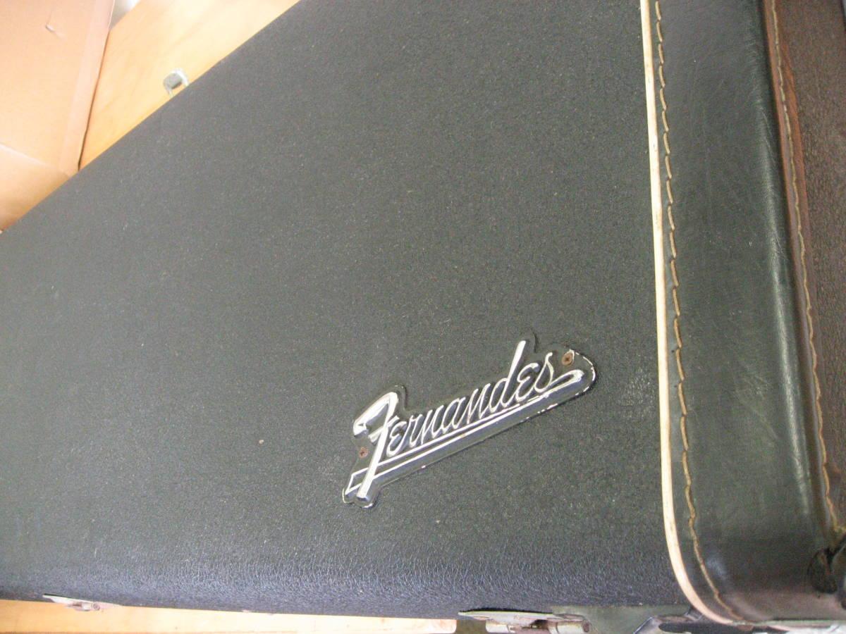 【ジャンク品】オールド フェルナンデス 75年製テレキャスネック+ストラトボディ FERNANDES  コレクター_画像8