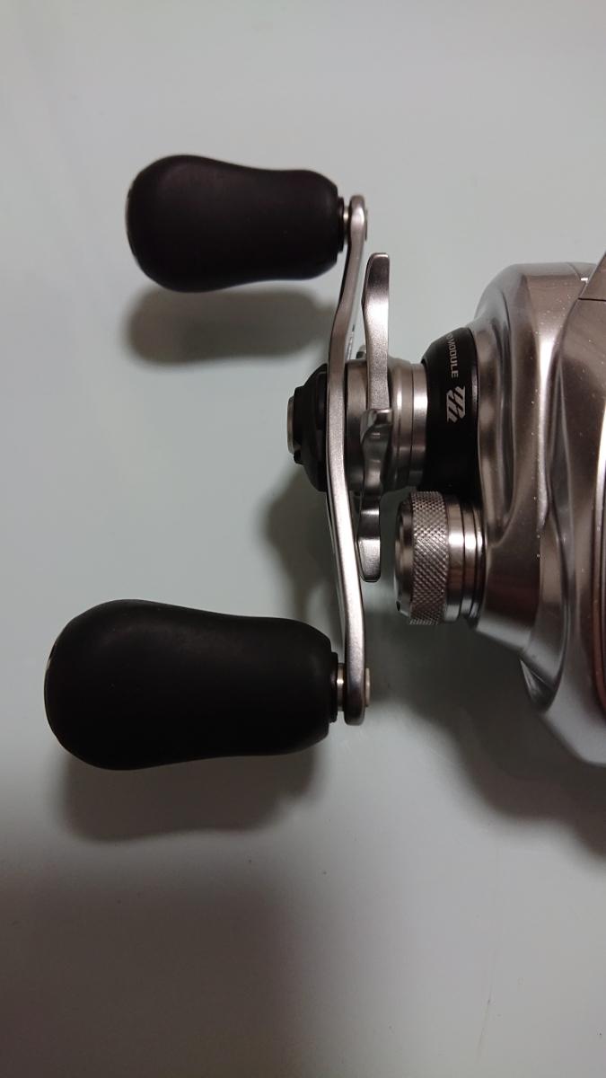 シマノ 16メタニウムMGL HG 左ハンドル 極美品 _画像6