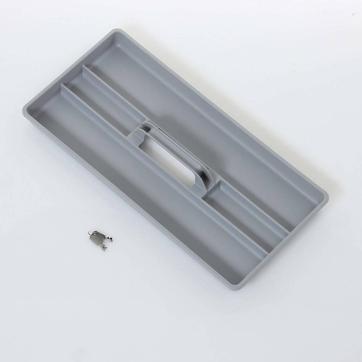 【未使用】 アイリスオーヤマ アルミケース ソリッドケース 工具収納ケース 工具箱 W約50×D約27.5×H約30.5cm SLC-50T C-179_画像3
