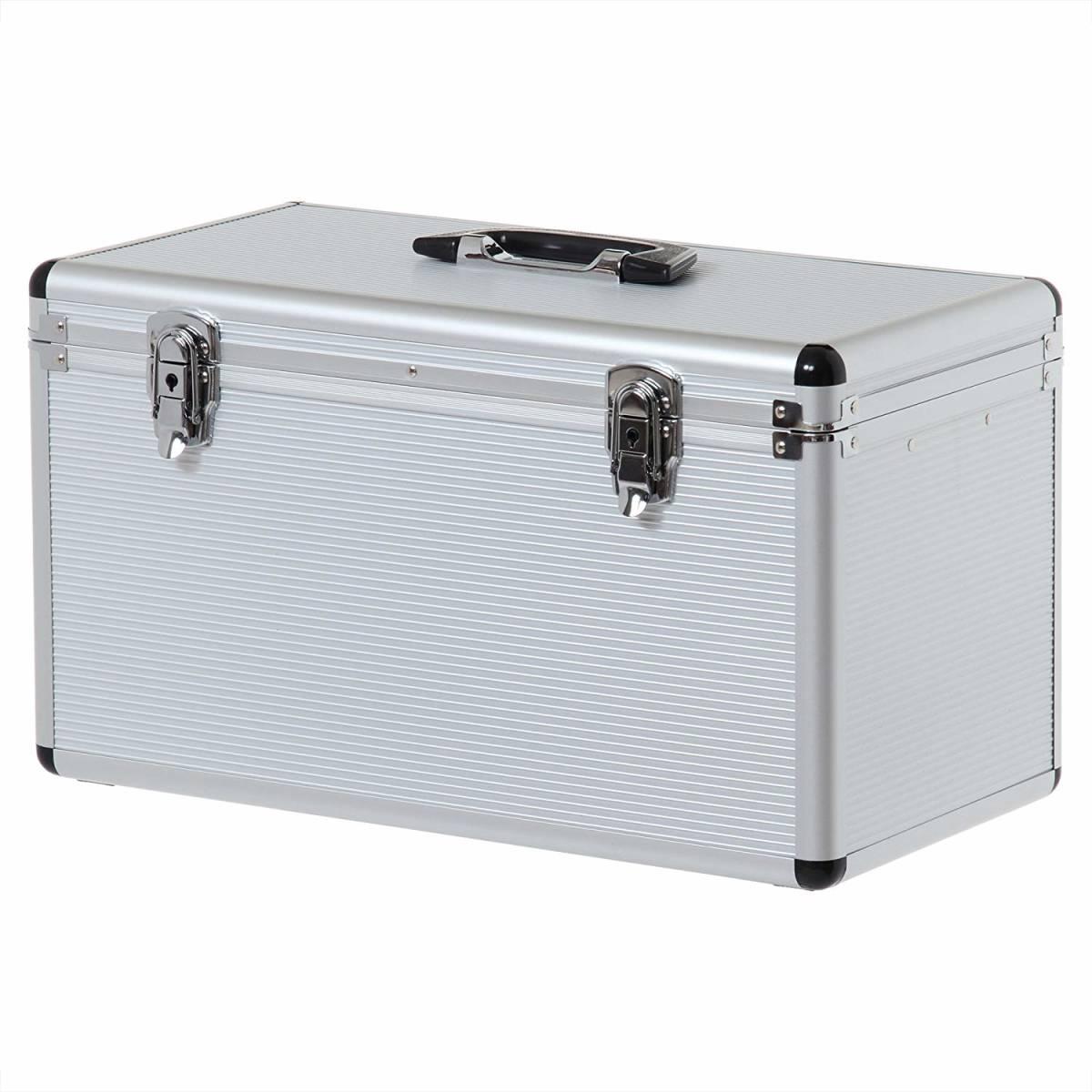 【未使用】 アイリスオーヤマ アルミケース ソリッドケース 工具収納ケース 工具箱 W約50×D約27.5×H約30.5cm SLC-50T C-179_画像1