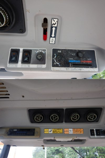 ヤンマー クローラトラクター CT-55 55馬力 1373h キャビン仕様/エアコン付/自動水平 湿田にオススメ! 1000円スタート売切り!_画像8
