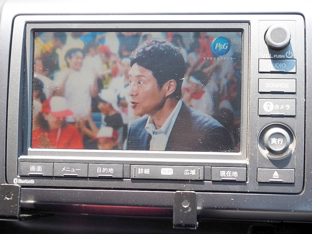 RK5型 21年 ステップワゴンスパーダ Z HDDナビ TV マルチビューカメラ ETC 両側パワースライド エアロ HID スマートキー 車検令和2年11月_画像7