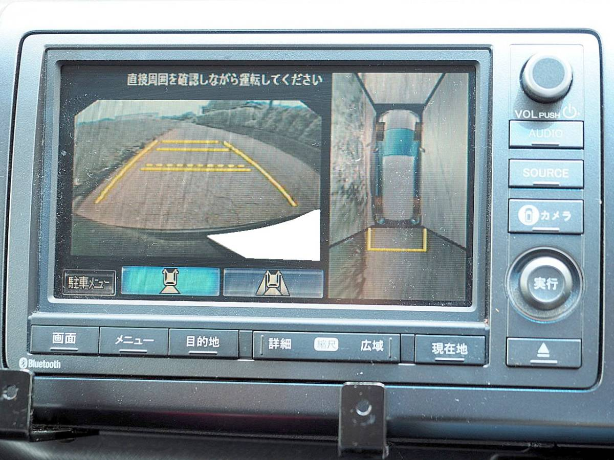 RK5型 21年 ステップワゴンスパーダ Z HDDナビ TV マルチビューカメラ ETC 両側パワースライド エアロ HID スマートキー 車検令和2年11月_画像5