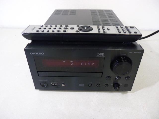 ■■美品!! ONKYO オンキョー CR-N765 ネットワークCDレシーバー ハイレゾ対応 リモコン付■■