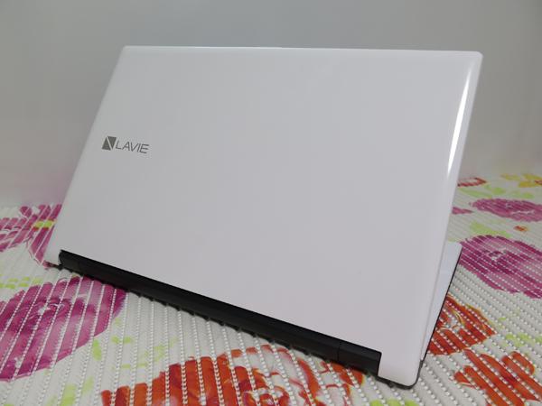 【2016年5月モデル★爆速新SSD480GB】NS150/E NEC ホワイト 高速CPU(Skylake)第6世代 最新Windows10 ★ メモリ4GB Wi-Fi HDMI Office2016_画像3