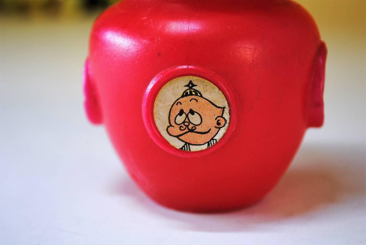 A344【当時物】【希少】【レトロ】ウメ星デンカ☆お菓子容器☆不二家☆チョコレート☆_画像6