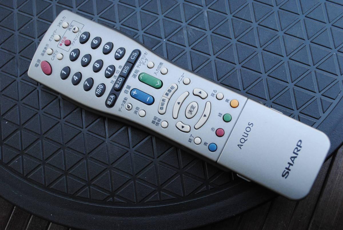 A350.SHARP/シャープ/AQUOS/アクオス/液晶カラーテレビ/LC-22K20/22インチ/2015年製/B-CASカード付/リモコン付属/回転天板付/HDMI入力/_画像10