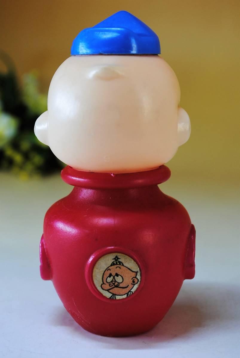 A344【当時物】【希少】【レトロ】ウメ星デンカ☆お菓子容器☆不二家☆チョコレート☆_画像3
