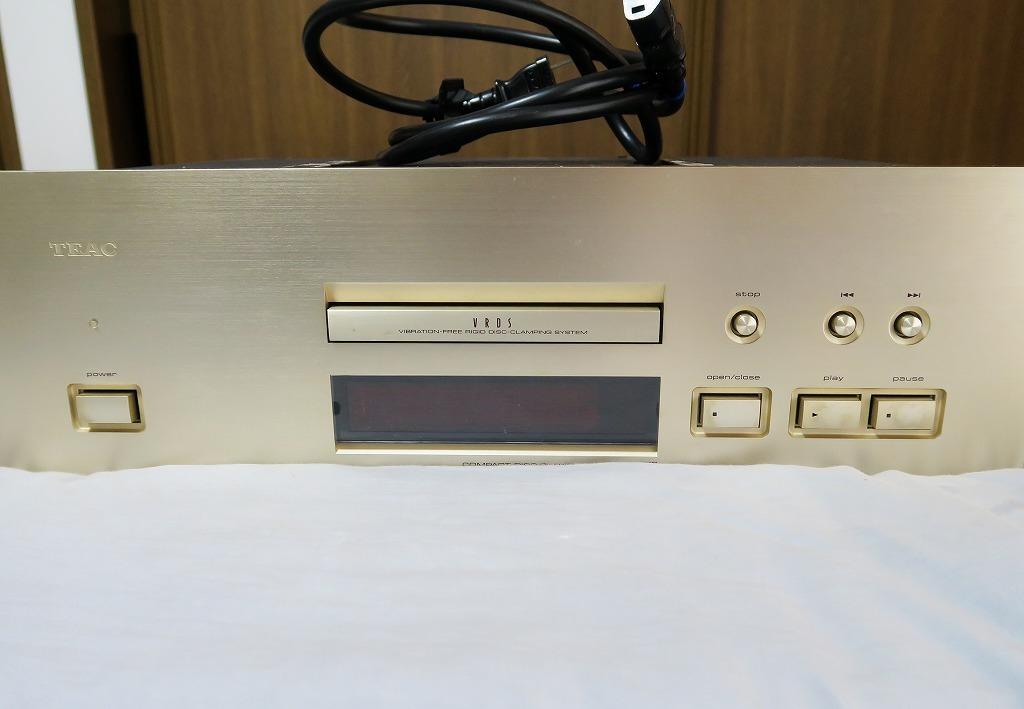 【ジャンク】TEAC CDプレーヤー VRDS-25 Xティアック